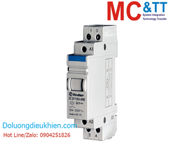RM-22.22 CR: 2 Pole 20 A Step relay with DIN-rail mounting