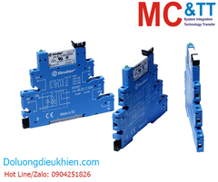 RM-38.61 CR: 1 Pole, Form C, 6 A power realy with DIN-rail mounting(5 piece in one box)