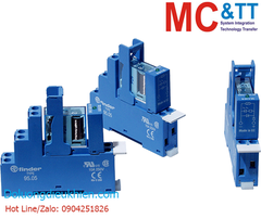 RM-48.61 CR: 1 Pole, Form C, 16 A power relay with DIN-rail mounting (4 piece in one box)