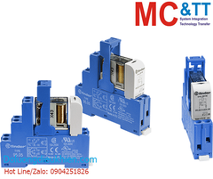 RM-48.62 CR: 2 Pole, Form C, 16 A power relay with DIN-rail mounting (4 piece in one box)