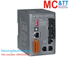 RS-405AFT-T CR: Switch công nghiệp 3 cổng Ethernet (Real-time Redundant Ring) + 2 cổng quang (2 sợi quang, Multi-mode, ST, 2KM)