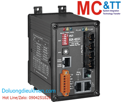 RSM-405AFT-T CR: Switch công nghiệp 3 cổng Ethernet (Real-time Redundant Ring) + 2 cổng quang (2 sợi quang, Multi-mode, 2KM, ST)