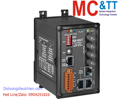 RSM-405FT CR: Switch công nghiệp 3 cổng Ethernet (Real-time Redundant Ring) + 2 cổng quang (2 sợi quang, Multi-mode, 2KM, ST)