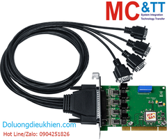 VXC-114iAU/D2 CR: Card PCI 4 cổng RS-232