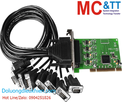 VXC-118U/D2 CR: Card PCI 8 cổng RS-232