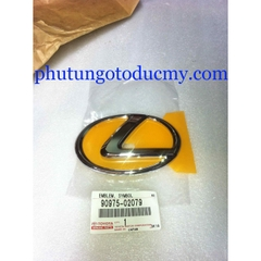 Logo cốp sau Lexus RX/GS/ES/IS, 90975-02079