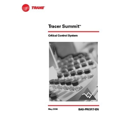 Tracer Summit Critical Control System