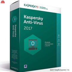 Phần mềm Kaspesky Anti Virus 2017 Box 1 year, 3 user