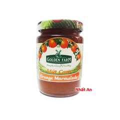Mứt cam/ Orange Jam 210gr hiệu Golden Farm
