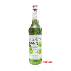 Siro Monin Green Apple 700ml/ Vị táo xanh Monin 700ml