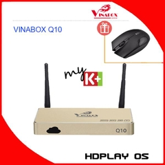 Android Box VINABOX Q10 Octa Core - Chip Lõi 8, Ram 2G