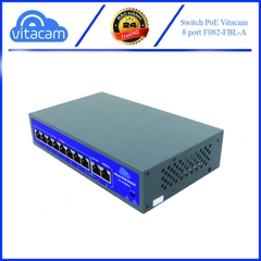 Bộ Switch PoE Vitacam 8 port 100Mbps
