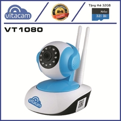 Vitacam Cloud IP VT1080 – Camera Ip Wifi 1080P – 2.0Mpx Full HD - Chip Hisilicon