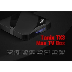Smart Android TV Box Tanix Tx3 Max – Ram 2GB, Rom 16GB, Android 7.1.2, Bluetooth 4.0, Amlogic S905w
