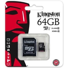Thẻ nhớ Kingston MicroSDXC 64GB class 10, UHS-I, 45MB/s