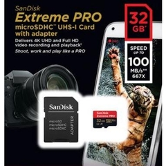 Thẻ nhớ Sandisk Micro SDHC 32GB 100/90MB/s Extreme Pro