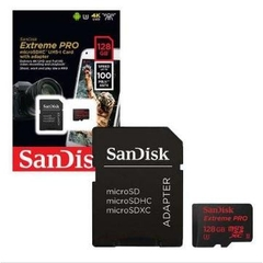 Thẻ nhớ Sandisk Micro SDXC 128GB 100/90MB/s Extreme Pro