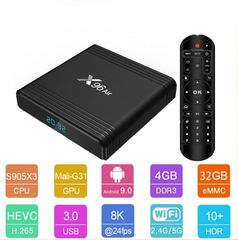 Android TV Box X96Air - Amlogic S905X3 - Ram 4GB - Rom 32GB - Android 9