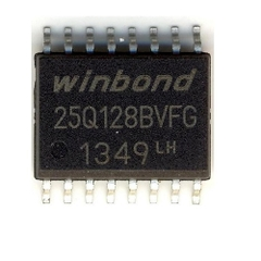 W25Q128BVFG SOP16 IC FLASH 128MBIT