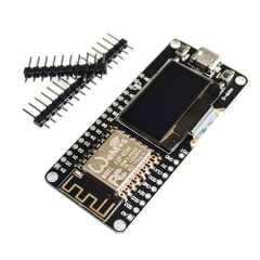 Kit RF Thu Phát Wifi ESP8266 OLED With 18650 Battery Holder