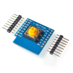 ESP8266 NodeMCU Lua D1 Mini 1 Button Shield