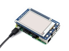 Màn Hình Waveshare 2.7 Inch E-Ink Display HAT For Raspberry Pi, Three-Color (B)