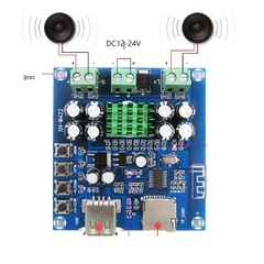 Module Audio 2x50W Bluetooth XH-M422