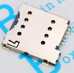 6-Pin Micro SIM Socket Push-Push