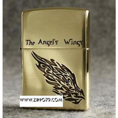 Zippo đồng The Angel's
