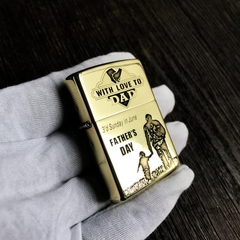 Zippo With Love To DAD