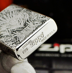 Zippo Sterling Silver 925 Game of Thrones 4