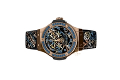 Đồng Hồ Hublot Big Bang Broderie Sugar Skull Gold 41mm 343.ps.6599.nr.1201