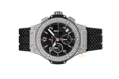 Đồng Hồ Hublot Big Bang Steel Pavé 41mm 341.sx.130.rx.174