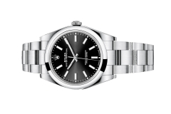Đồng Hồ Rolex Oyster Perpetual 114300 Mặt Số Đen