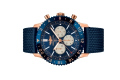 Đồng hồ Breitling Chronoliner B04 Red Gold (Limited) - Blue
