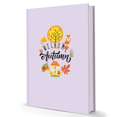 [ Sổ ] Sổ Tay Notebook - Welcome Autumn