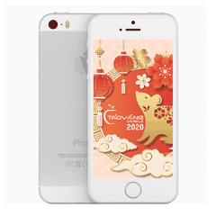 iPhone 5s 16GB Silver Quốc Tế