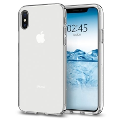 Ốp Lưng Silicon Trong iPhone XS Max SMTT
