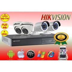 bộ 2 camera hikision hd