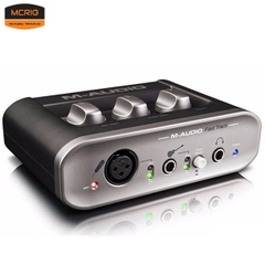 Sound card thu âm M-Audio Fast Track MKII