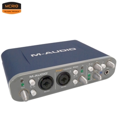 Sound card thu âm M-Audio Fast Track Pro