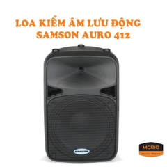 Speakers SAMSON AURO D412