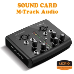 Sound Card M-Track Audio