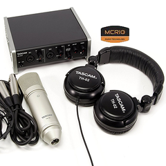 Card sound thu âm Tascam(US 2x2)