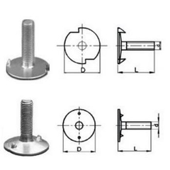 Bulong gầu tải - Elevator Bucket Bolts