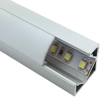 LED ALUMINUM PROFILE SURFACE MOUNTED L x W18.5x H18.5mm