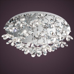 EGLO 93082 PONTEDO CRYSTAL CEILING LIGHT
