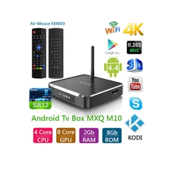 ANDROID TV BOX MXQ M10 + CHUỘT BAY KM800