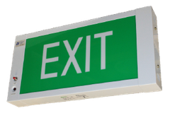 Đèn EXIT LED Slim Box Emergency Exit Sign BLEX W2001M Series