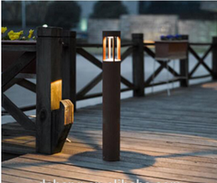 Đèn sân vườn IP65 Outdoor 5W LED Featured Garden Bollard Light